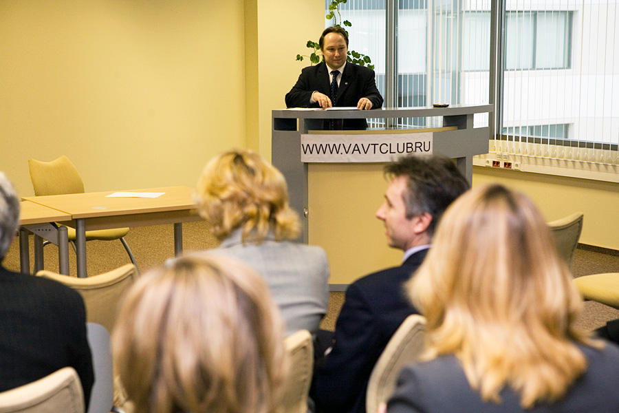 Дмитрий Орлов, Учредитель, Президент Внешторгклуба