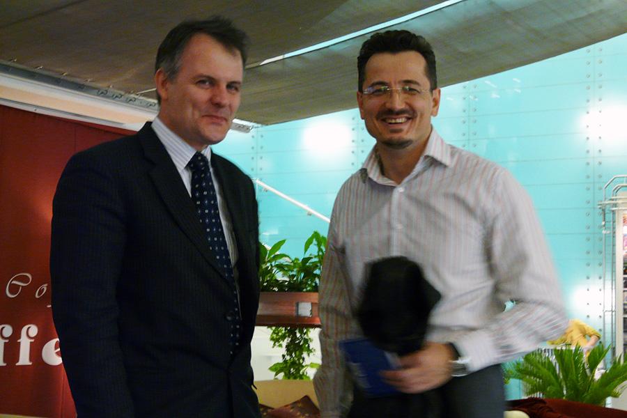 Иван Сурма, Евгений Синяков, встречи Внешторгклуба в Новинском Пассаже 2005-2010