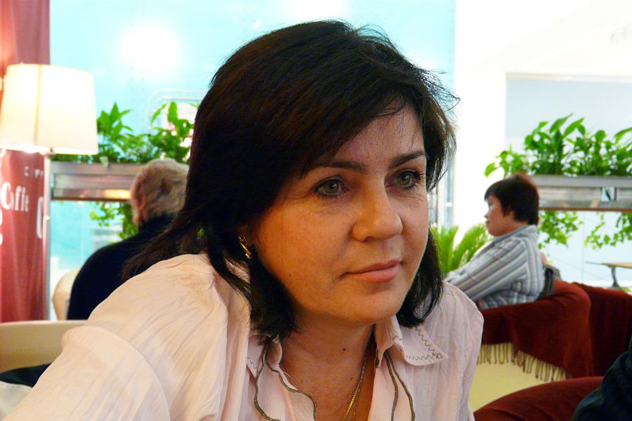 Оксана Коротина, встречи Внешторгклуба в Новинском Пассаже 2005-2010