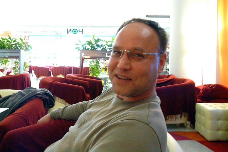 Сергей Македонский, встречи Внешторгклуба в Новинском Пассаже 2005-2010