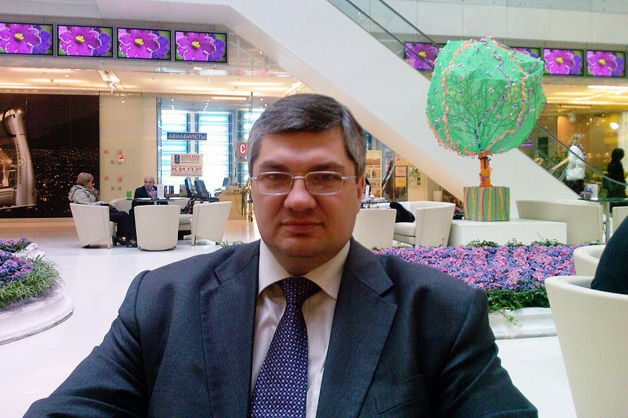 Виталий Азаров, встречи Внешторгклуба в Новинском Пассаже 2005-2010