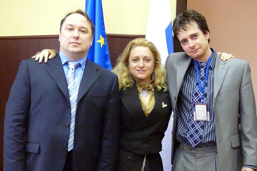 Дмитрий Орлов, Сесиль Эльзьер, Артем Асланян, Внешторгклуб в лицах 2005-2010