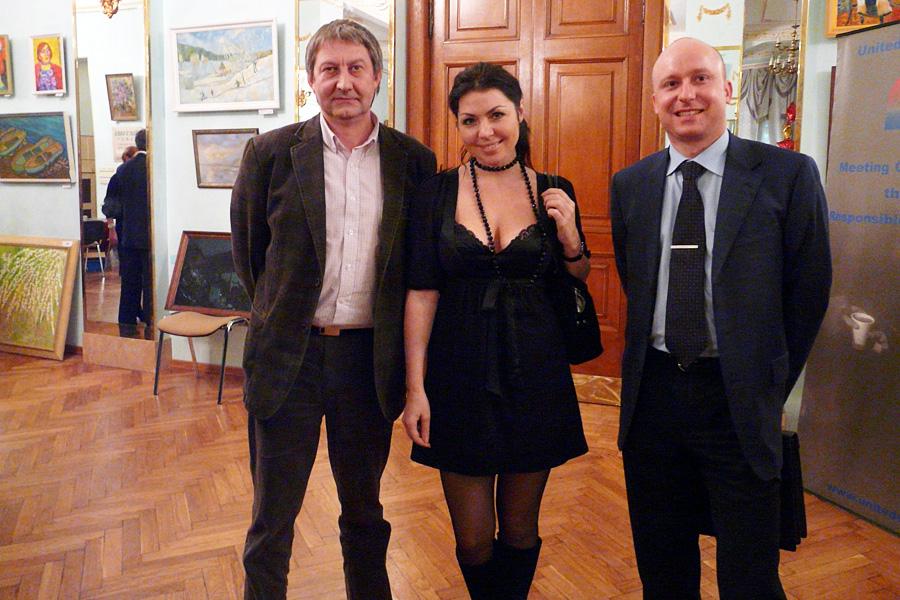 Олег Казанцев, Елена, Павел Захаров, Внешторгклуб в лицах 2005-2010