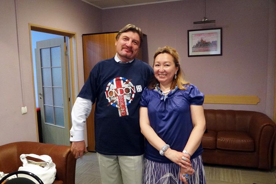 Игорь Мокин, Марианна Охлопкова, Внешторгклуб в лицах 2005-2010