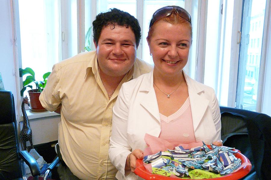 Игорь Брук, Оксана Юдакова, Внешторгклуб в лицах 2005-2010