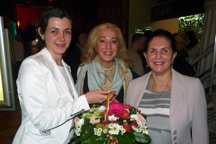 Оксана Гринда, Наталья Паткина, Елена Бабич, Внешторгклуб в лицах 2005-2010