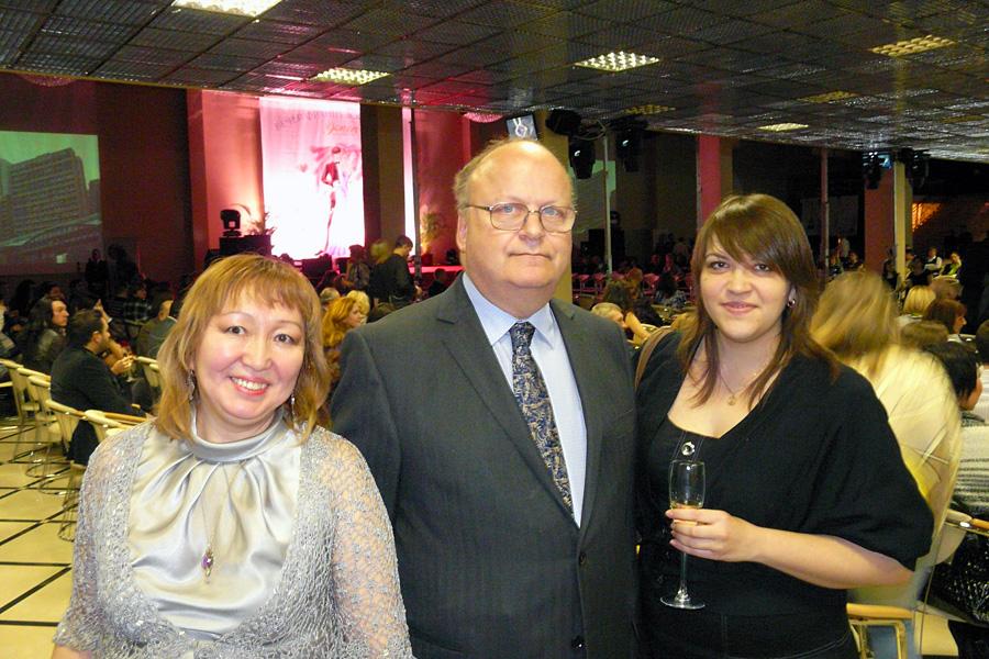 Марианна Охлопкова, Андрей Толстой-Милославский, Мария Шмидтке, Внешторгклуб в лицах 2005-2010