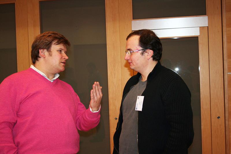 Олег Тетерин, Внешторгклуб и British Alumny Club проводят круглый стол «Mobile convergence» в Посольстве Великобритании, 2007