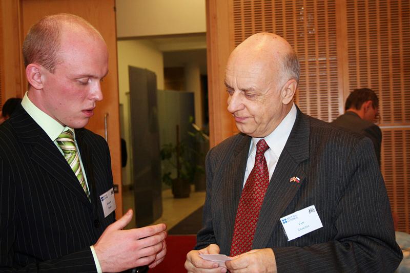Внешторгклуб и British Alumny Club проводят круглый стол «Mobile convergence» в Посольстве Великобритании, 2007
